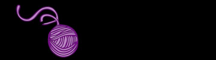 Logo, KnotenHexe, Haekeln, Anleitungen, kurvige und grosse Groessen