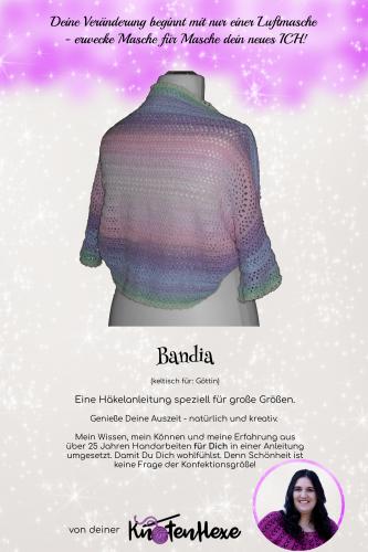 Cover des E-Books Bandia- eine Häkel-Anleitung für große Größen (42+)
